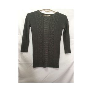 JACK Gray Knit Sweater Top Size S M6
